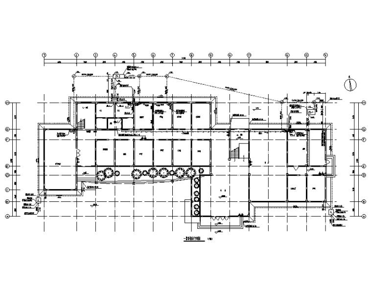 湖南长沙水厂厂区给排水施工图