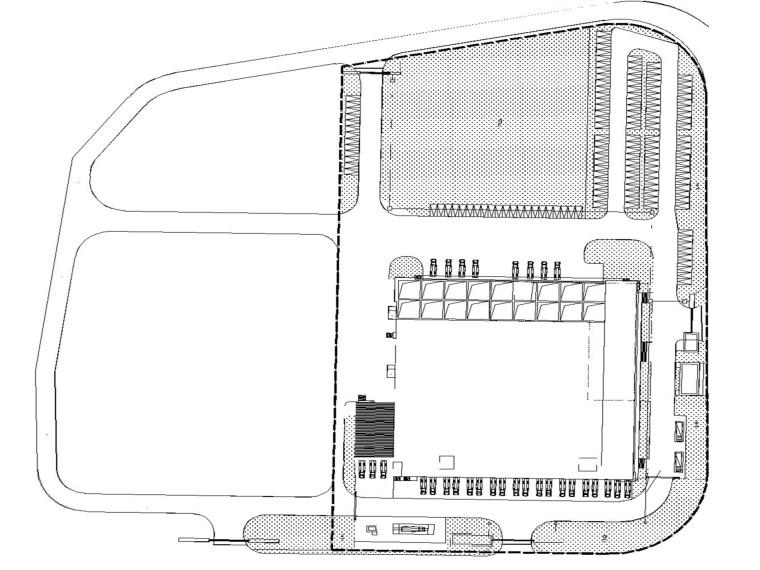 航空食品楼弱电图含招标、技术文件_2019-机场(航食)弱电总平面图