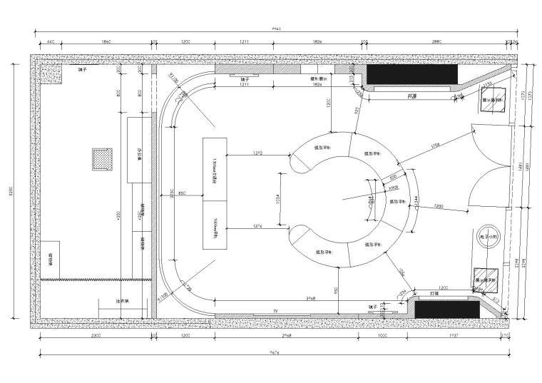 [上海]法國時尚服装品牌AGATHA旗舰店施工图