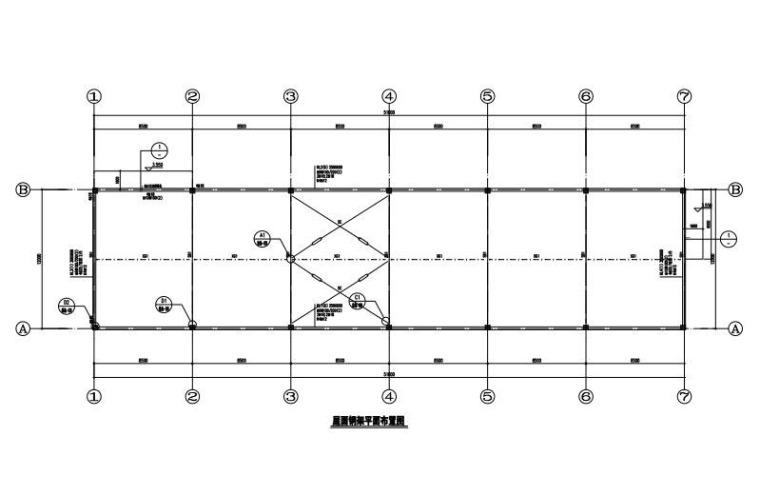 单层农场仓库建筑结构施工图2017(钢屋架)