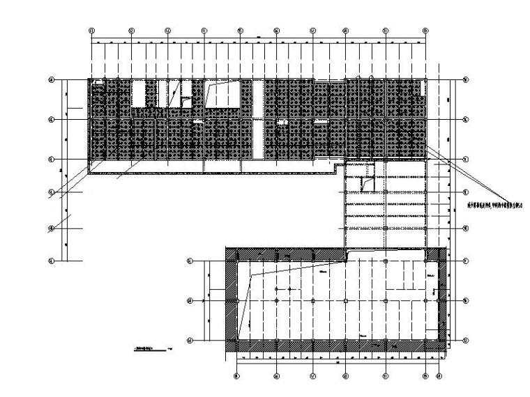 装配式框架结构医疗办公建筑结构施工图2018