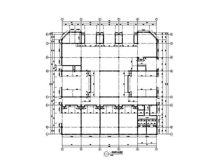 木结构框架报告厅结构施工图2018(墙骨柱)