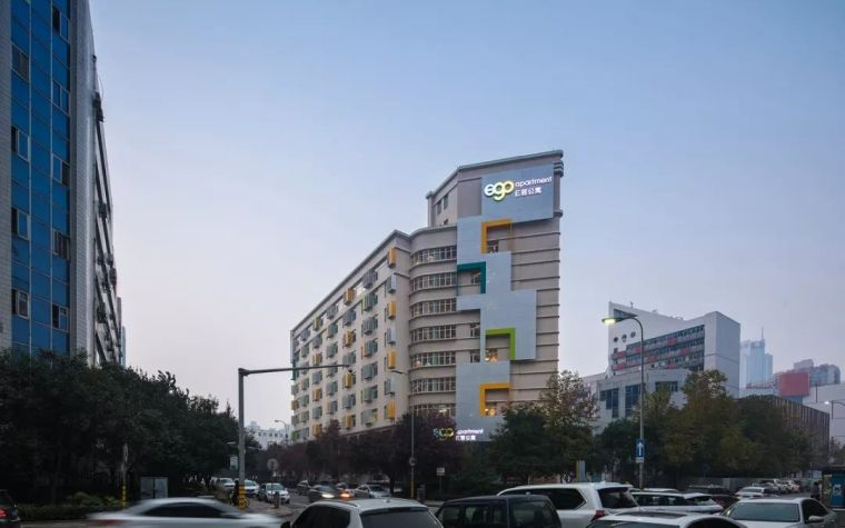 作品|西安高新创业社区E客公寓改造