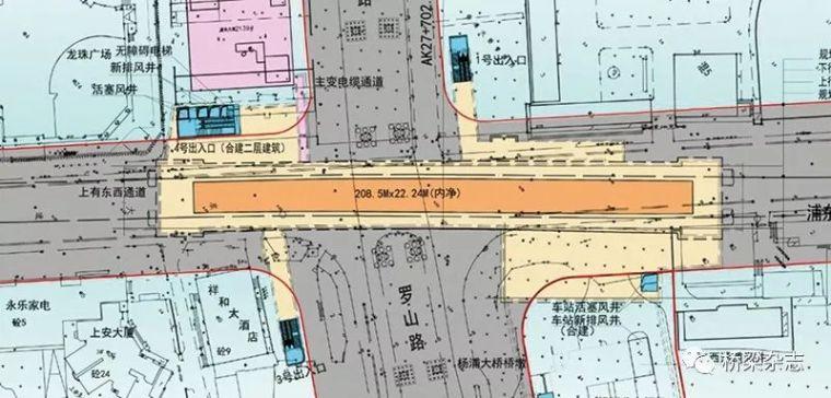 当地铁施工距离杨浦大桥桩基仅3.9米