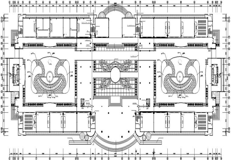 某高级中学教学综合楼电施工图21张图纸