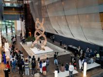 北京2019开幕式编织丛林装置