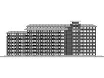 [贵州]某水利水电学院宿舍楼设计建筑施工图