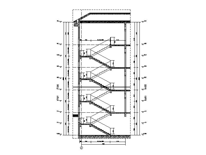 LT3樓梯1-1剖面圖