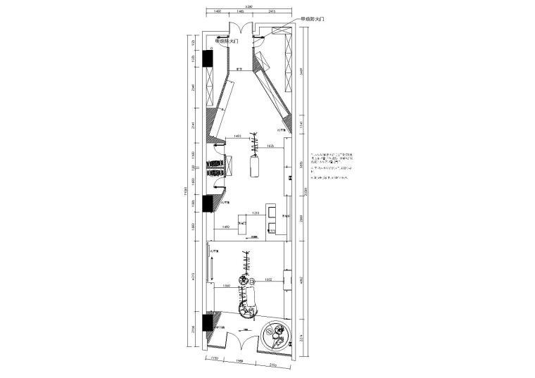 [上海]漫游城轻奢品牌IZOLA专卖店施工图