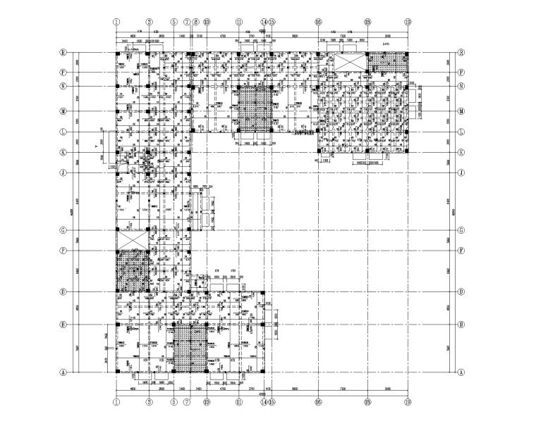 3层框架结构幼儿园施工图(建筑结构电气)