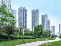 武汉越秀塔子湖J地块住宅景观