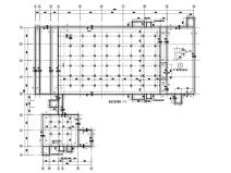 公猪舍黄金城结构施工图(单层空旷房屋结构)