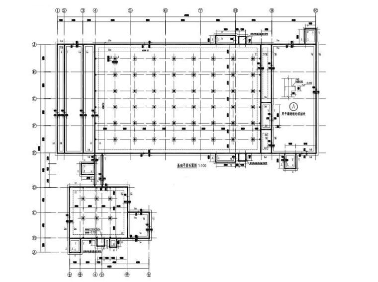 公猪舍建筑结构施工图(单层空旷房屋结构)