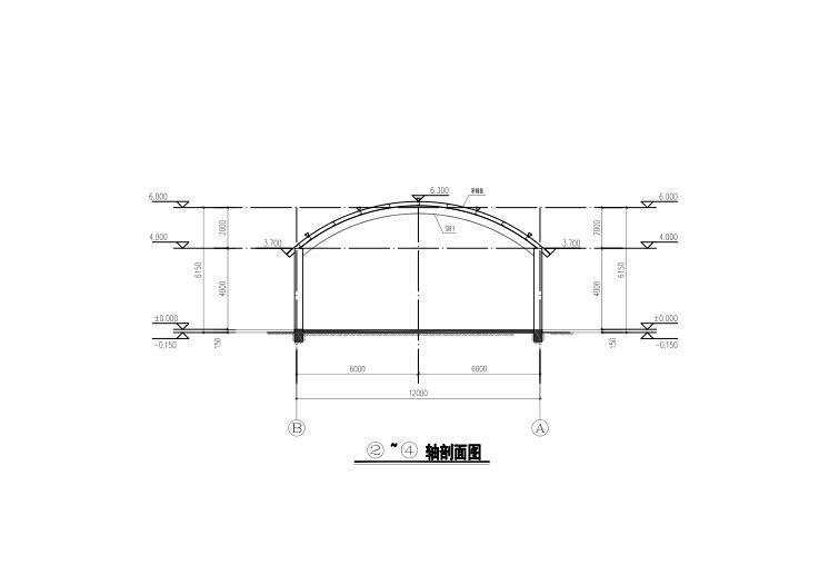 单层农场堆场结构施工图2017