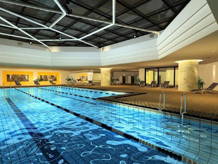 北京八达岭游泳池调温除湿空调方案