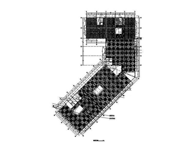 四层预制楼板布置图