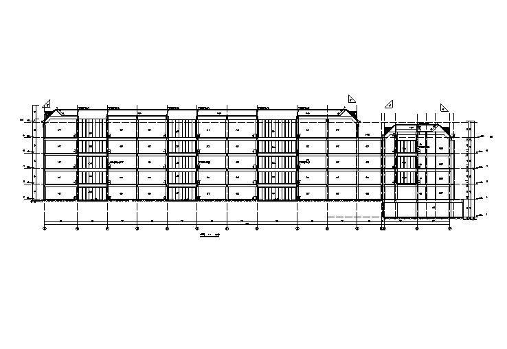 办公楼建筑立面图