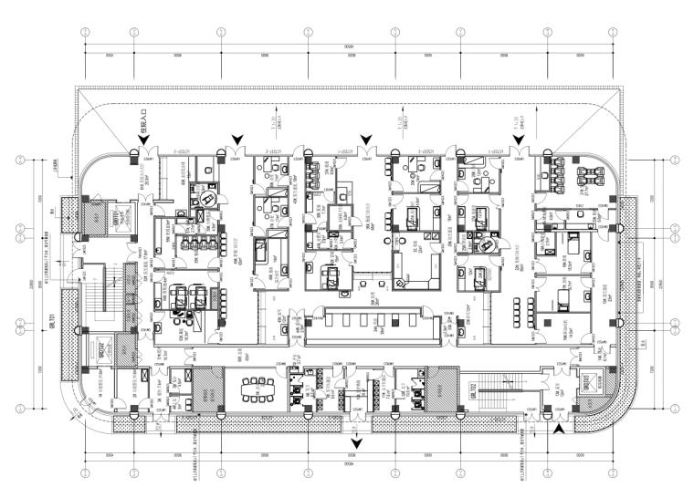 长沙县人民医院建设项目室内装饰工程施工图