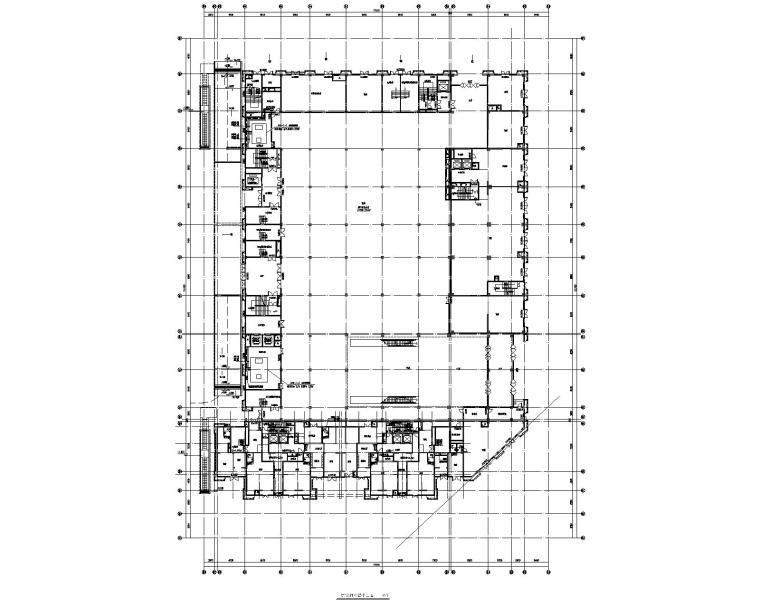 阜阳巨川金宝汇广场四层商业通风空调施工图
