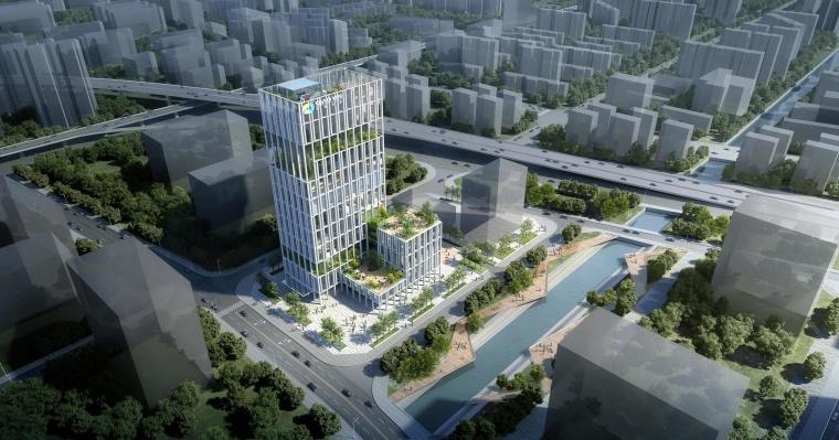 大宸设计:绿色商业办公设计·荔湾侨银大厦