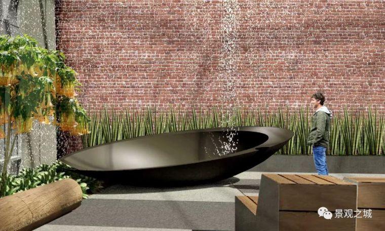 办公区景观设计---放松心情享受自由办公环
