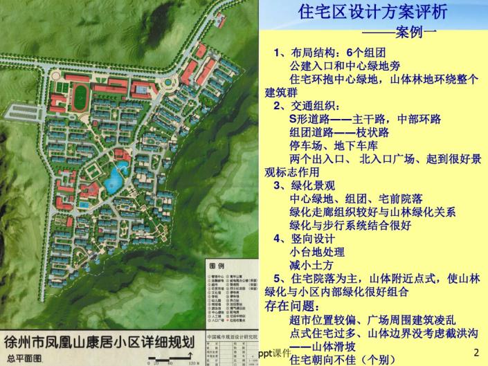 住宅区设计方案评析(PDF)