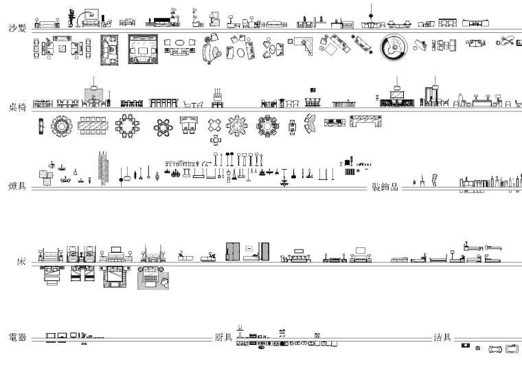HBA施工图制图规范(案例,图块,字体等)