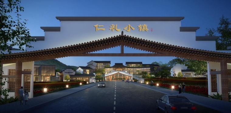 大宸设计:山水文旅建筑设计·湖州仁礼小镇