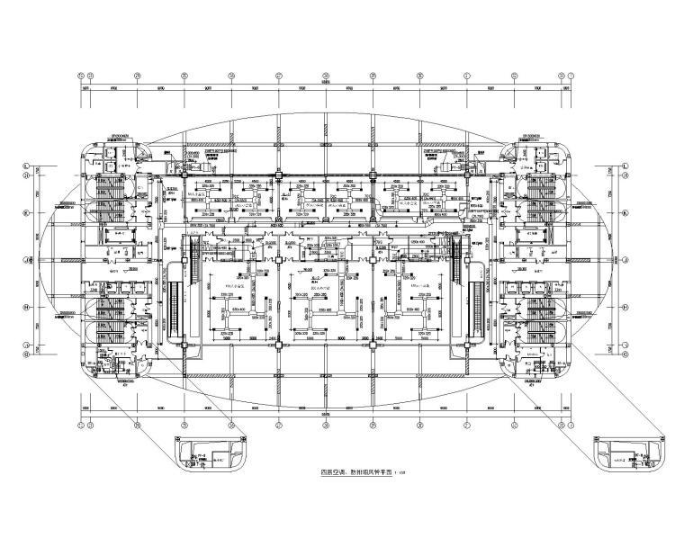 新疆国际会展中心暖通设计施工图