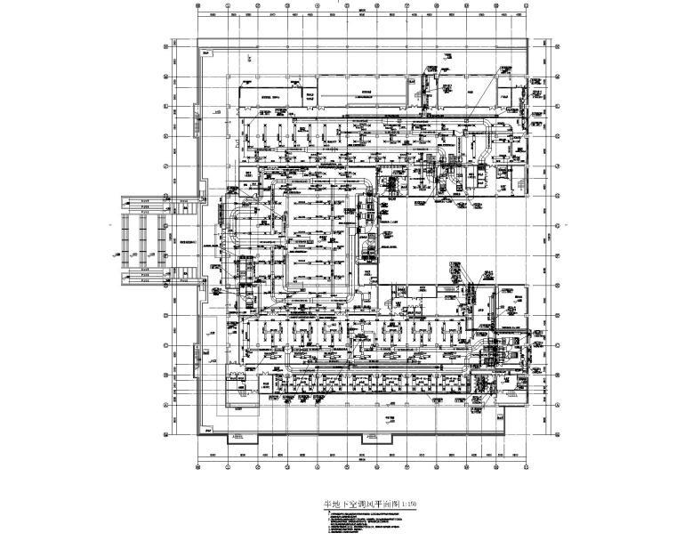 河南四层城市规划展览馆综合楼暖通施工图