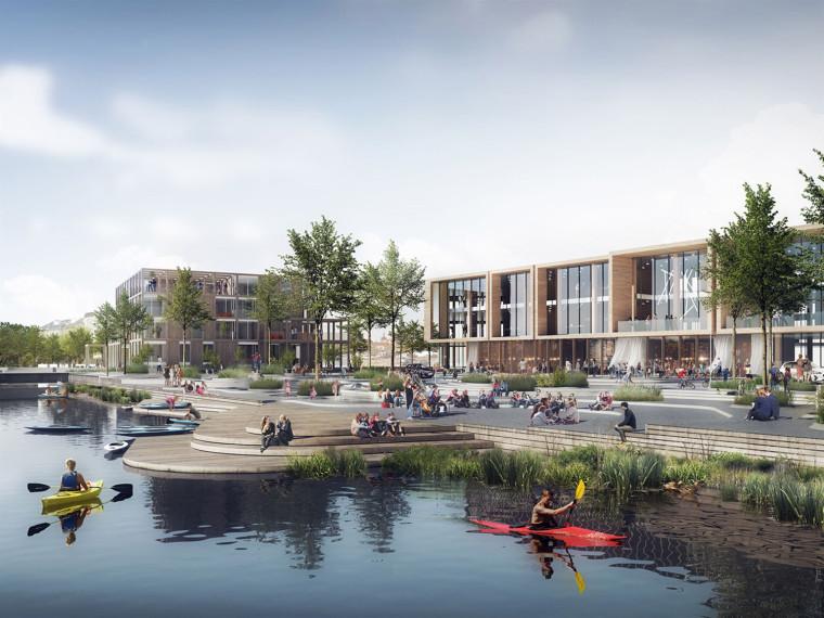 丹麦我们的河滨小镇总体规划