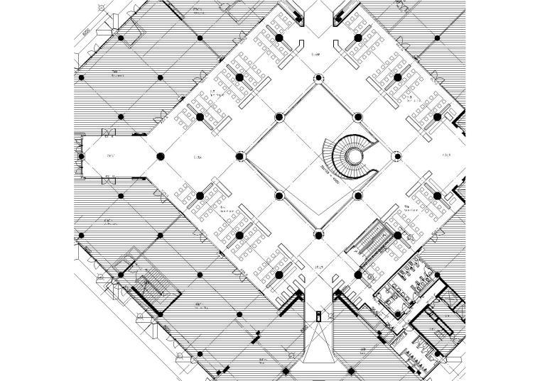 [北京]-中粮广场改造内装施工图+SU模型