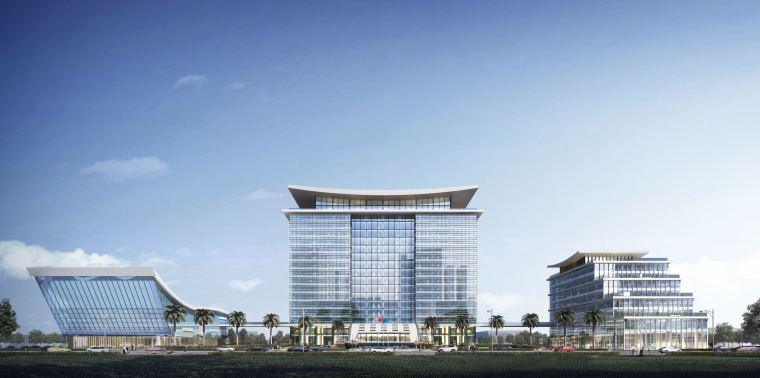大宸设计:商业办公建筑设计·茂名港务中心