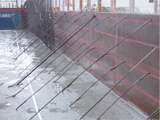 组合钢模板结构