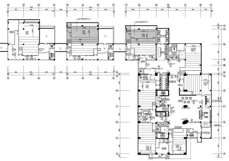 上海阳光广场影城全套CAD施工图+高清效果图