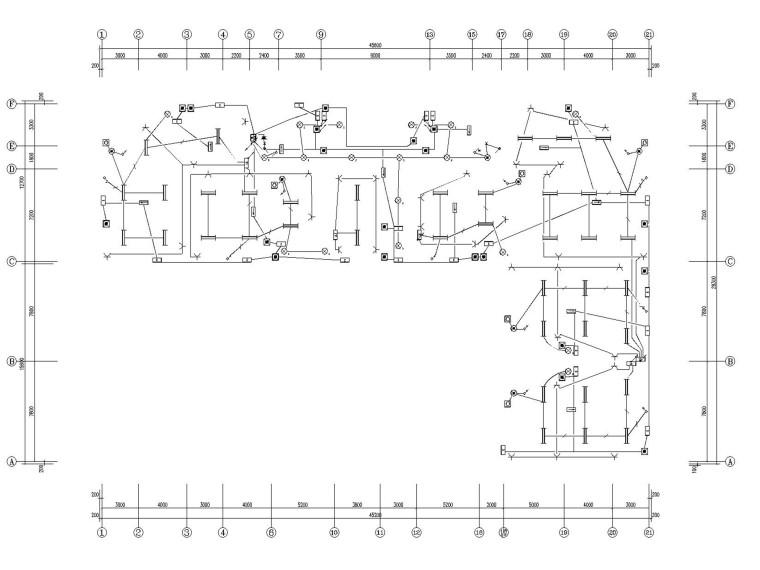 商业中心建设项目电气施工图