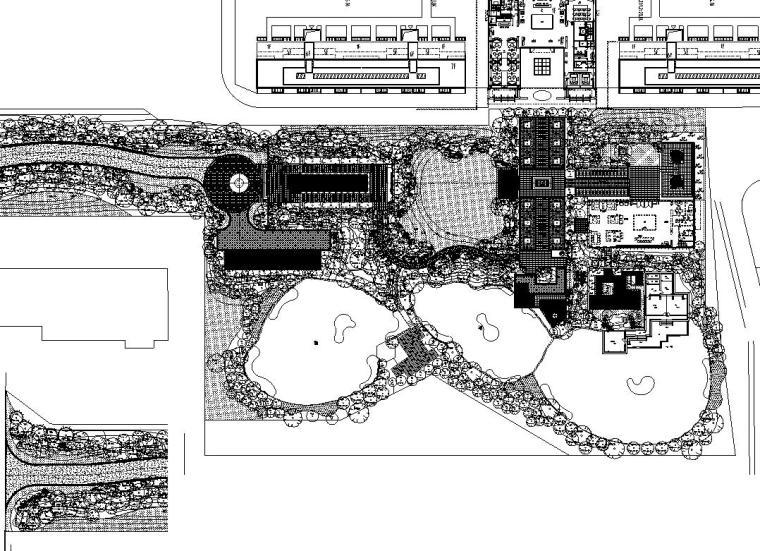 [浙江]杭州新绿园植物CAD施工图设计