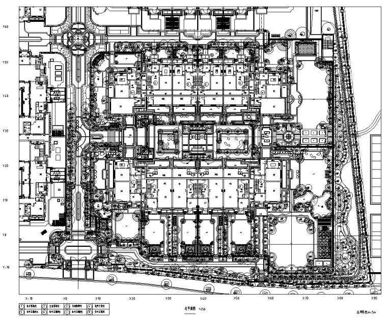 [浙江]绿城杭州莲园植物CAD施工图设计