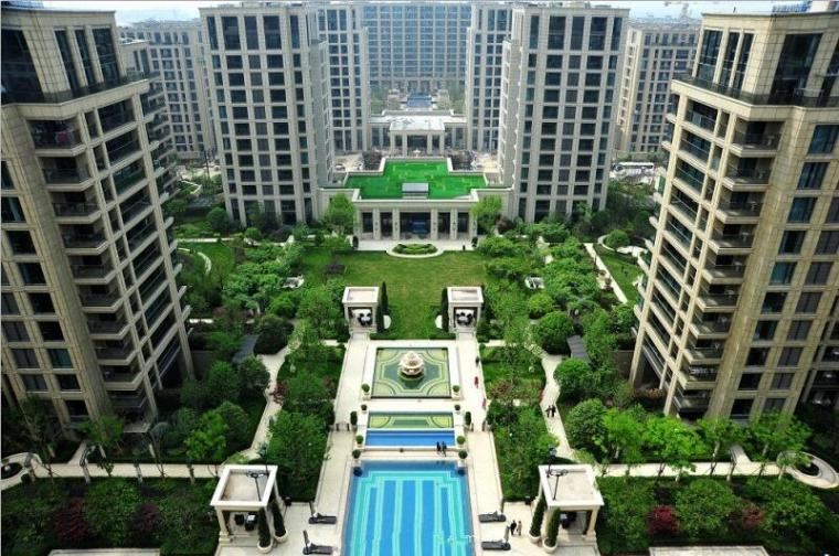[北京]绿城诚园居住区植物实景图