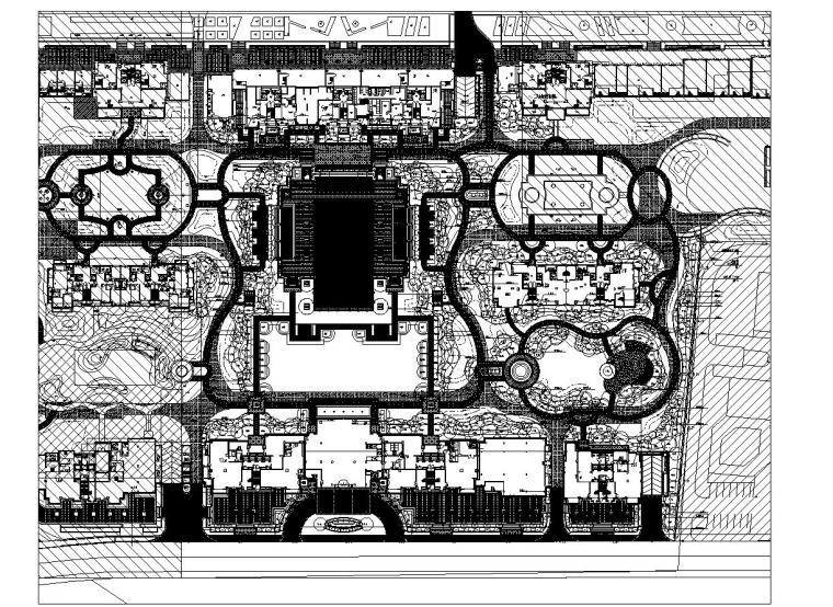 [浙江]绿城杭州玉园住宅植物CAD施工图