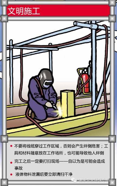100幅安全漫画......还原标准化作业现场!_7