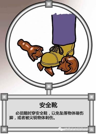 100幅安全漫画......还原标准化作业现场!_23