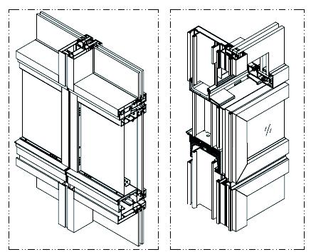 全球首个自由形态外骨骼网架结构幕墙_24