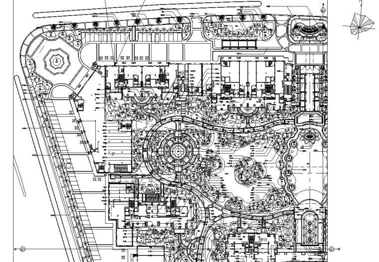[浙江]绿城绍兴百合花园植物CAD施工图