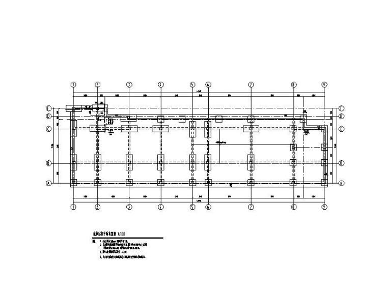 捞刀河公交站场建设项目结构施工图2016