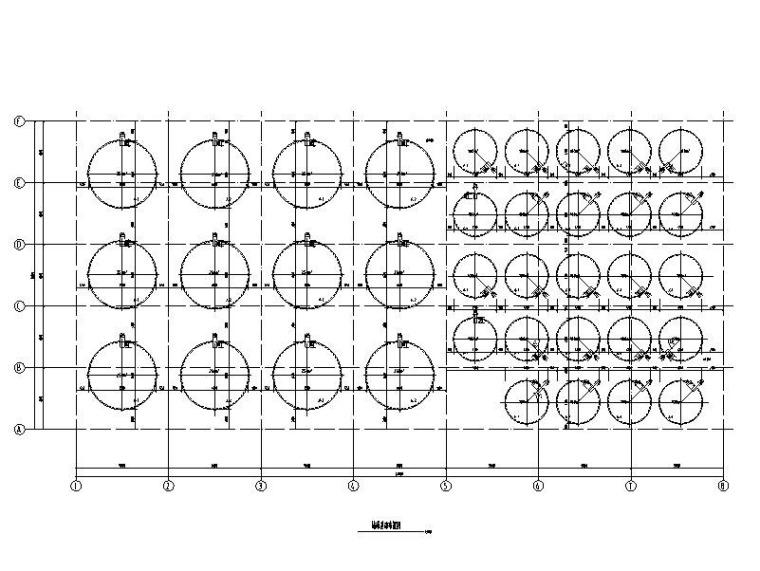 单层钢混柱轻钢屋面不锈钢罐酒库结构施工图