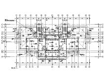 山東青島社區安置房暖通設計施工圖