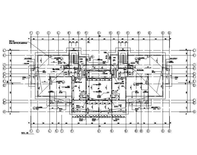 山东青岛社区安置房暖通设计施工图