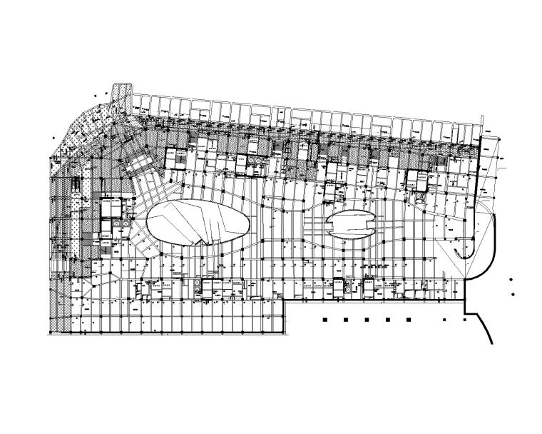 10层商业综合体框架-剪力墙结构施工图2016