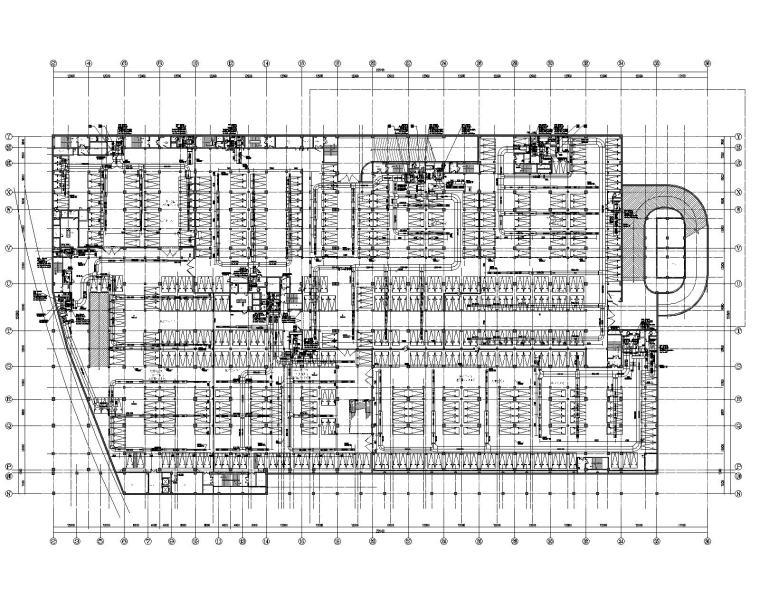 苏州高新区有轨电车综合换乘枢纽暖通施工图